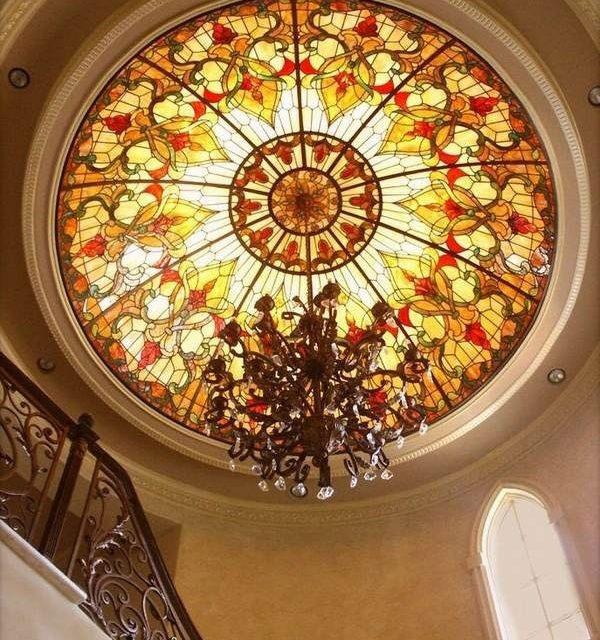 گنبد شیشه ای استین گلس برای طراحی سقف اماکن مختلف