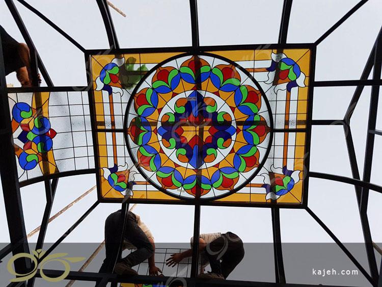 اتاقک شیشه ای استین گلاس ; پروژه چیتگر - شهرک راه آهن