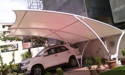 نصب و اجرای سقف پلی کربنات برای پارکینگ منازل مدرن