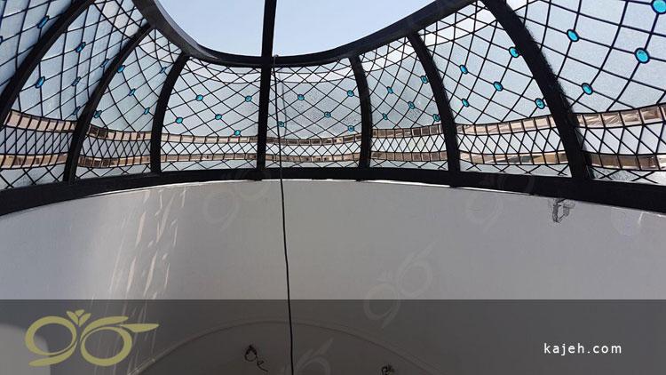 گنبد شیشه ای استین گلاس بیضی با قطر های 2 - 4 متر