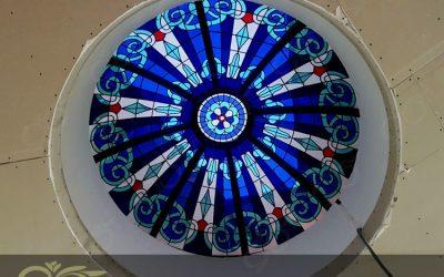 گنبد شیشه ای پاسداران ; رستورانی با طراحی مراکشی و گنبد شیشه ای استین گلاس – تیفانی