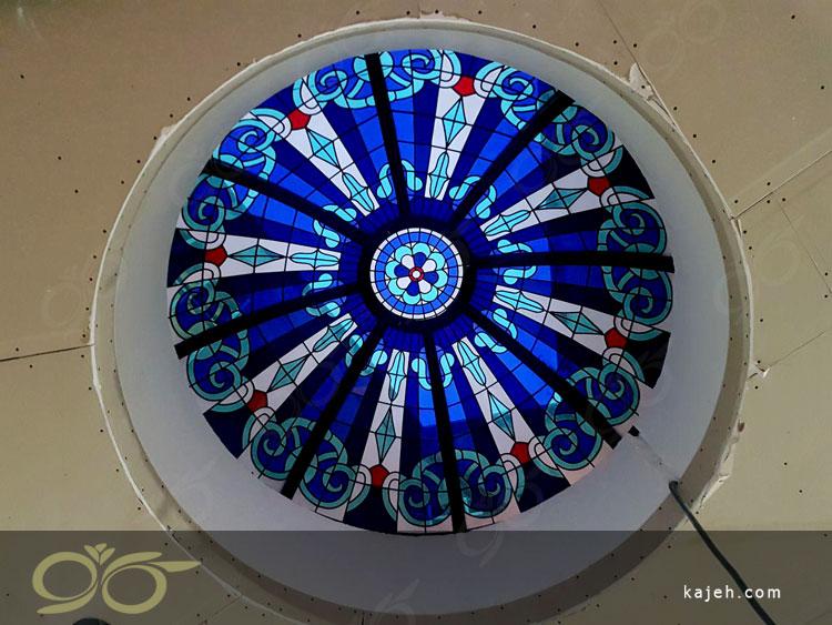 گنبد شیشه ای پاسداران ; رستورانی با طراحی مراکشی با شیشه های استین گلس  + فیلم