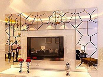 تاثیر آینه های دکوراتیو مدرن در تزیین منزل