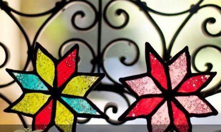 شیشه های تزیینی استین گلس برای طراحی آشپزخانه