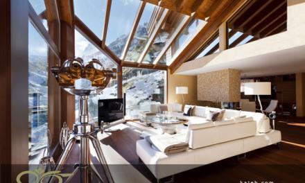 طراحی متفاوت منازل کم نور با نورگیر شیشه ای سقفی