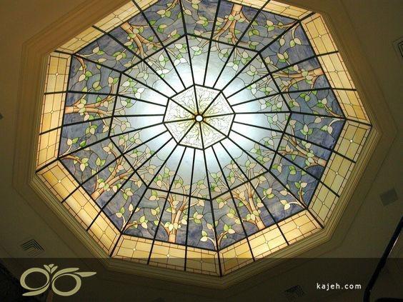 مزایای گنبد شیشه ای نسبت به سایر پوشش های سقف