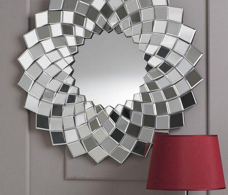 نمونه آینه های دکوراتیو ؛ نمونه های زیبا ۲۰۱۸( طراحی، تولید و نصب )