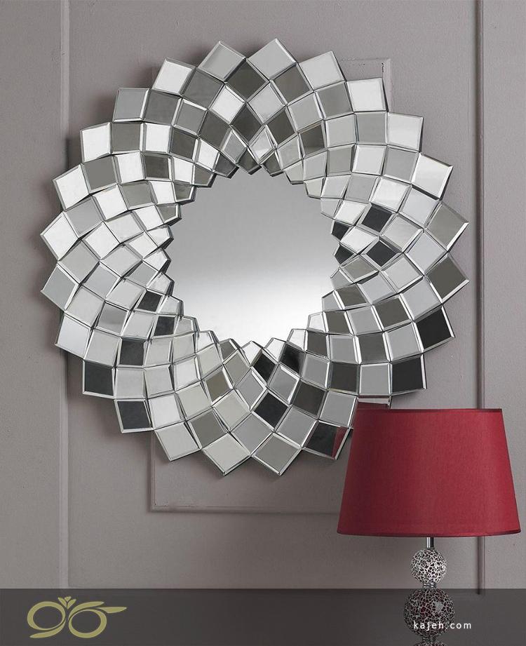 آینه دکوراتیو طرح خورشید