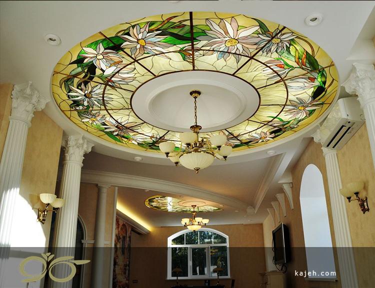 سقف کاذب شیشه ای استیند گلس