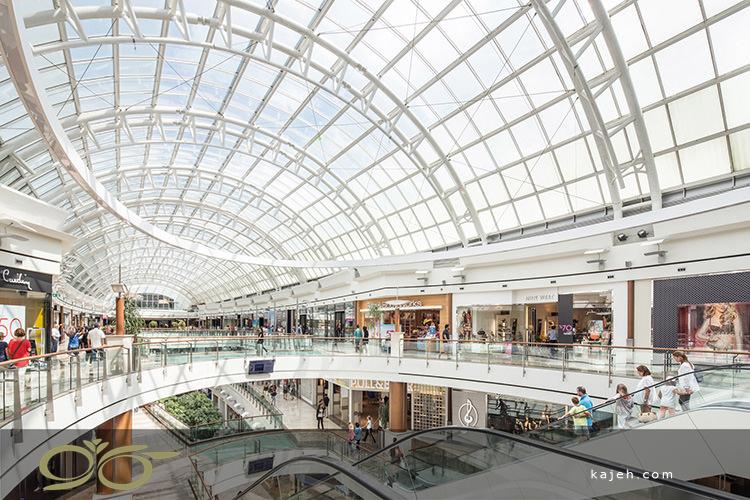 سقف نورگیر شیشه ای لوکس برای ساختمان تجاری مدرن