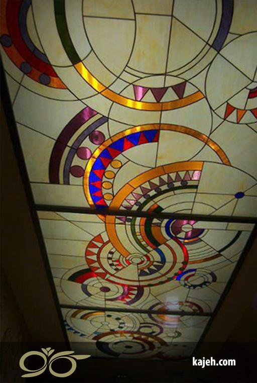 سقف کاذب شیشه ای | بک لایت