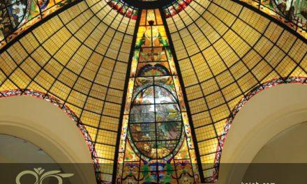 گنبد شیشه ای استیندگلس و اولین کلیسای پنطی کاست عیسی مسیح