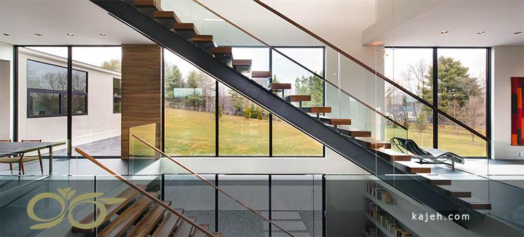 شیشه برای نمای ساختمان