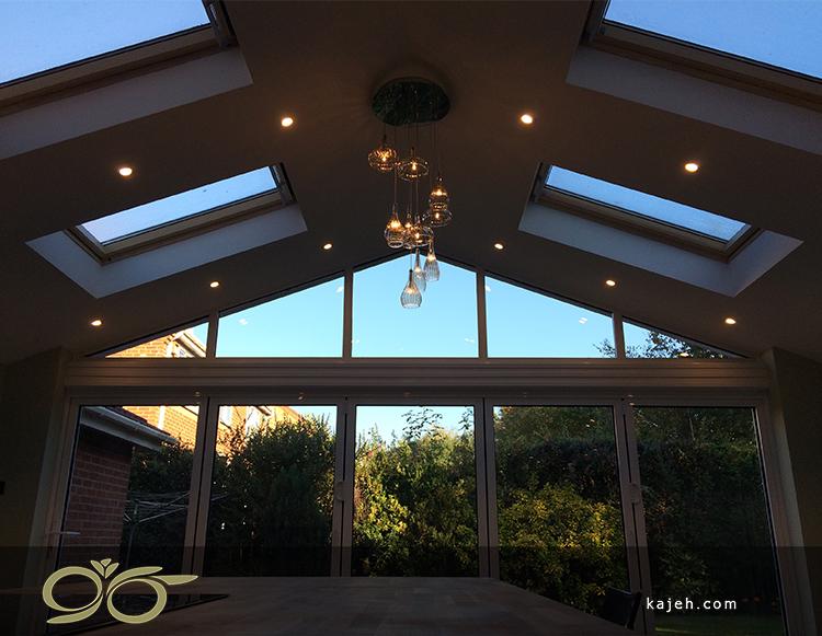سقف شیشه ای ضرورتی برای دکوراسیون امروز