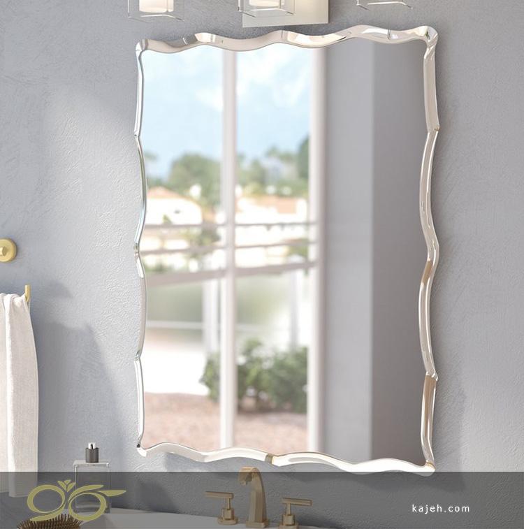 چگونه یک آینه بدون قاب را نصب کنیم؟