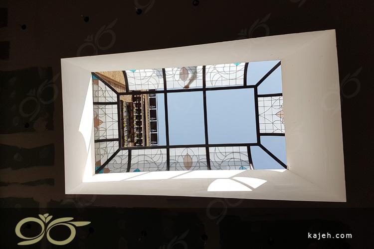 سقف نورگیر شیشه ای سعادت آباد