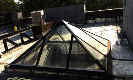 هرم شیشه ای نورگیر – پروژه دماوند – ویلای آقای خواجه امیری