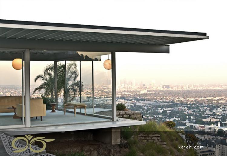 منزل استال: خانهی معروف هالیوودی با دیوار شیشهای