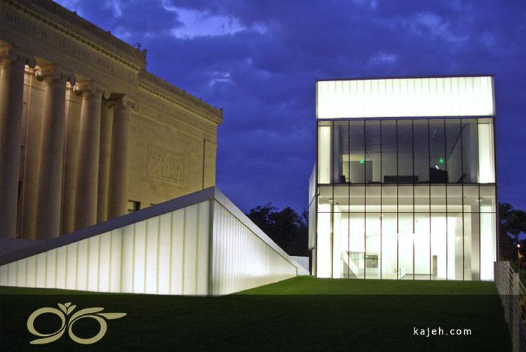موزهی هنری نلسون آتکینز، آمریکا - حفاظت آثار هنری در برابر اشعههای نور