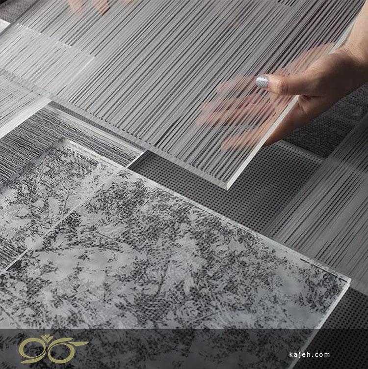 طراحی روی شیشه سکوریت