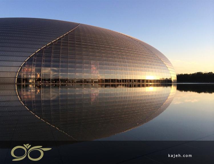 مرکز ملی برای اجرای هنر، پکن - طرحی برای شبیه سازی آب
