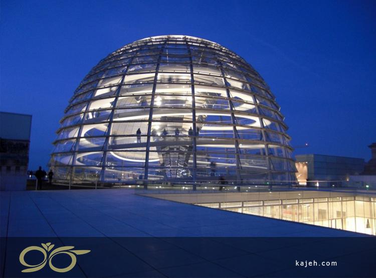 گنبد رایشتاگ، برلین - یکی از جاذبههای معروف آلمان