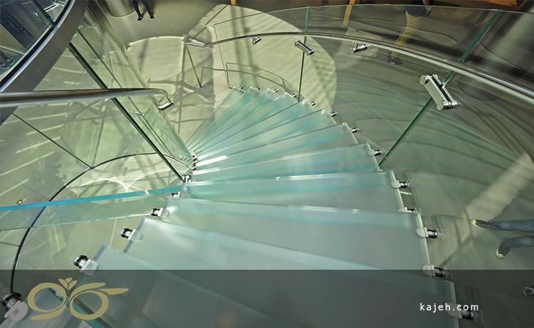 استفاده از شیشههای خم