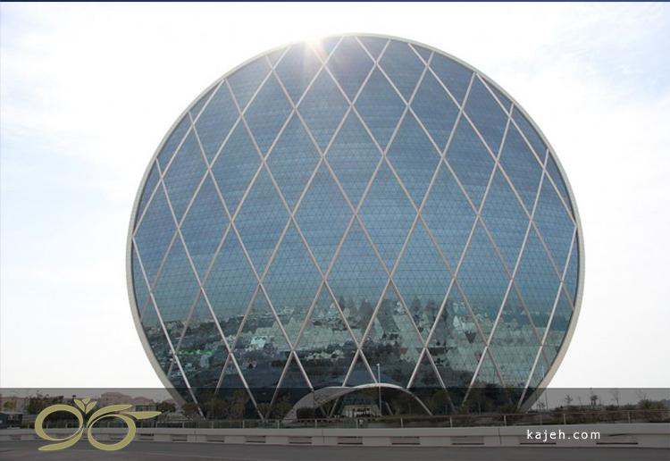 مرکز فرماندهی الدار، ابوظبی: اولین ساختمان دایرهای شکل در خاورمیانه