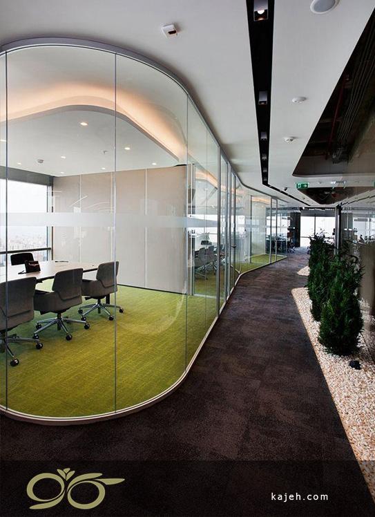 اتاق مدیریت شیشه ای
