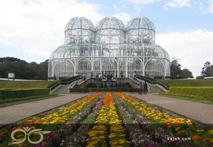 باغ گل و گیاه کوریتیبا، برزیل - الهام گرفته از طراحی بریتانیایی قرن 19
