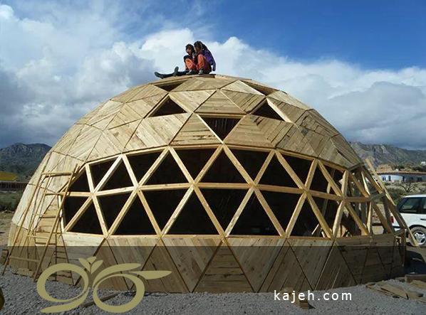 سازه های چوبی برای ساخت گنبد