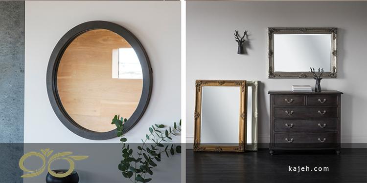 دکوراسیون با آینه