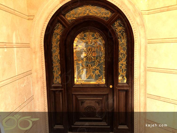 شیشه درب ورودی - پروژه امیرکبیر - چیتگر