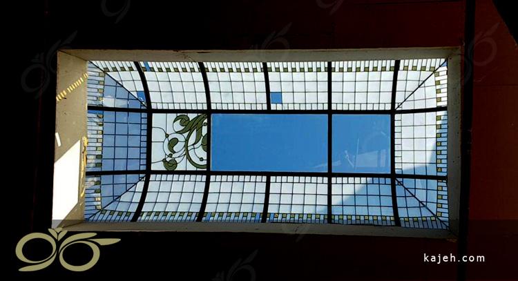 سقف نورگیر تزئینی و شیشه ای صالح آباد