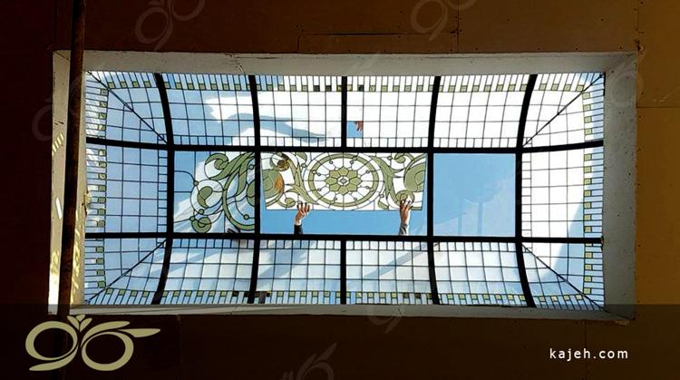 سقف نورگیر تزئینی صالح آباد