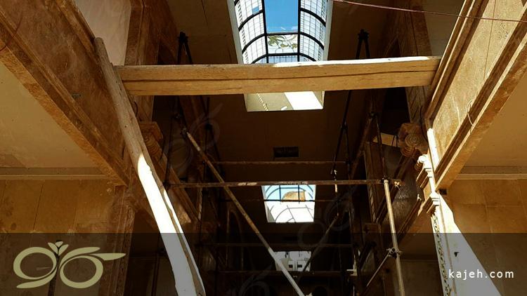 سقف نورگیر شیشه ای صالح آباد