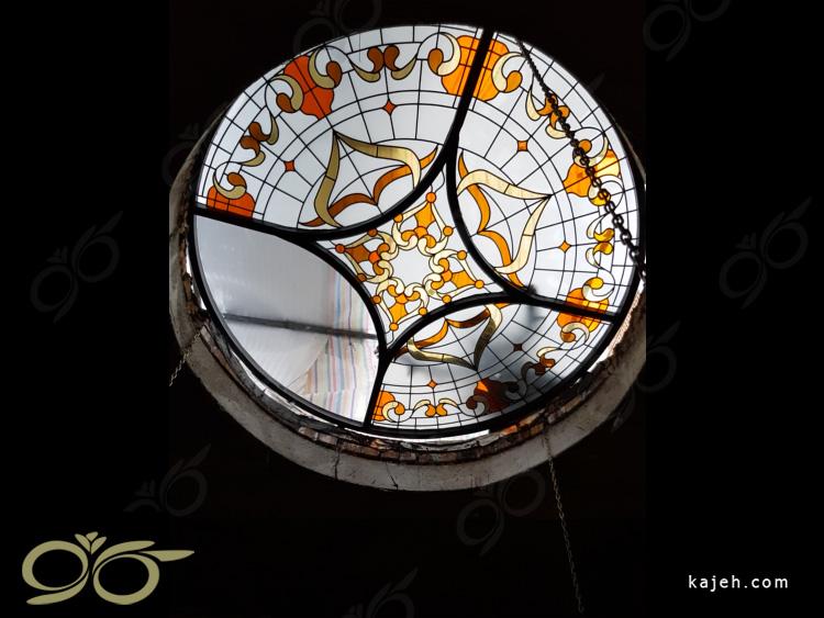 سقف نورگیر شیشه ای شهرستان خوی