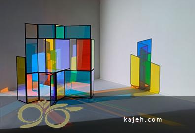 ایدهای بکر با استفاده از شیشههای رنگی