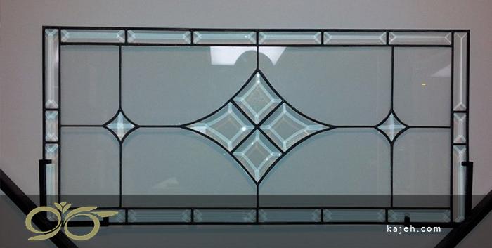 مدل شماره 3 طرح لوزی شیشههای استین گلاس: