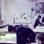 کارگاه شیشه کاژه