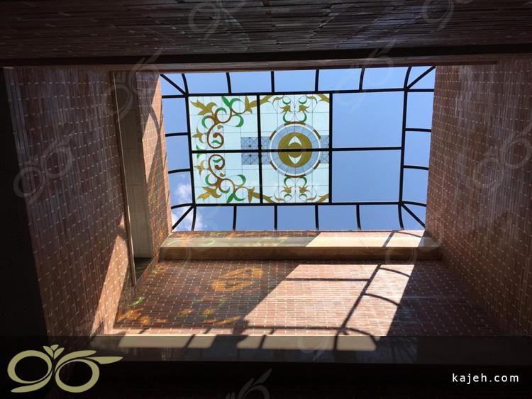 سقف نورگیر مجتمع آموزشی پروژه اتمی قزوین