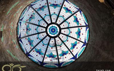 گنبد شیشه ای ماهشهر ساخته شده از شیشه های استین گلس ( استیند گلس ) + فیلم