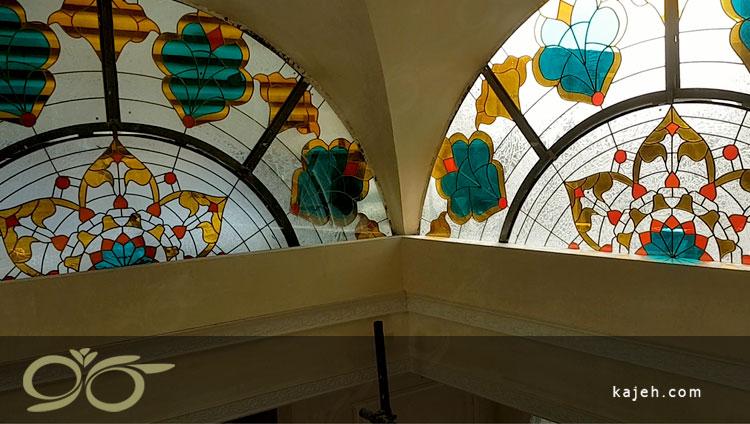 نورگیر شیشه ای هتل سیمرغ