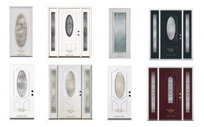 انتخاب شیشه با طرح مناسب برای درب ورودی از نمونه های بسیار (سفارش شیشه استین گلس)