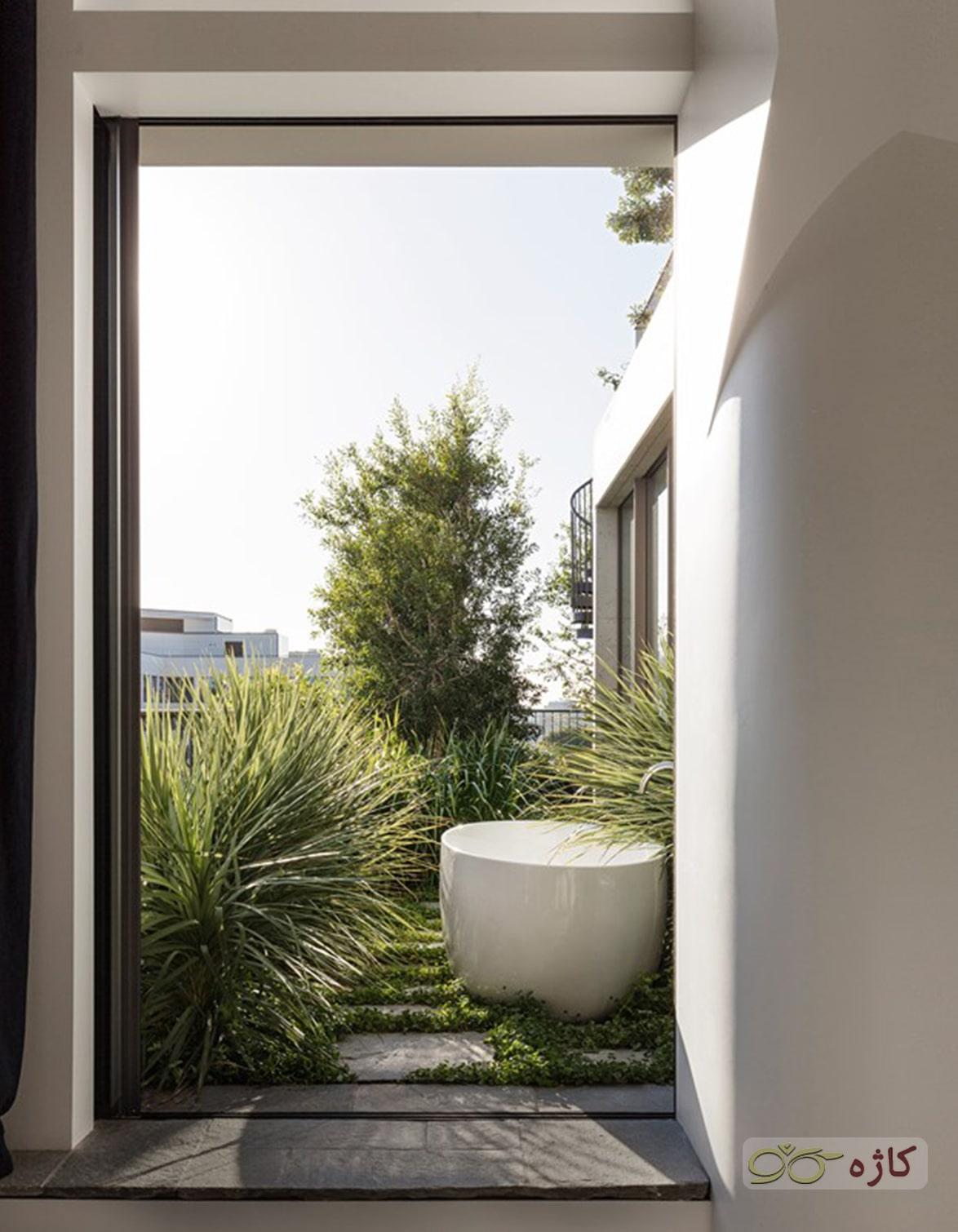 روف گاردن - با گیاهان متنوعی از شکل و اندارههای مختلف