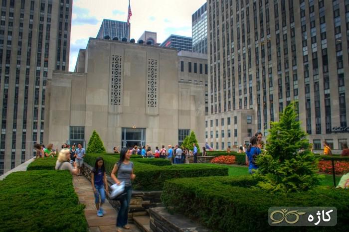 روف گاردن Rockefeller Center (نیویورک)