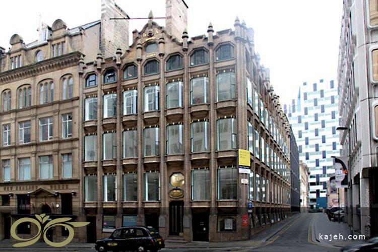 نمای شیشه ساختمان - نمای کلاسیک
