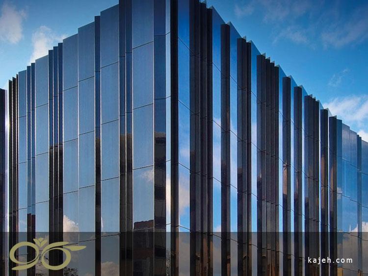 نمای شیشه ساختمان